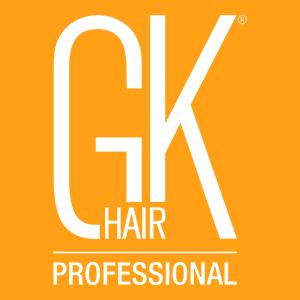 GK Hair logo