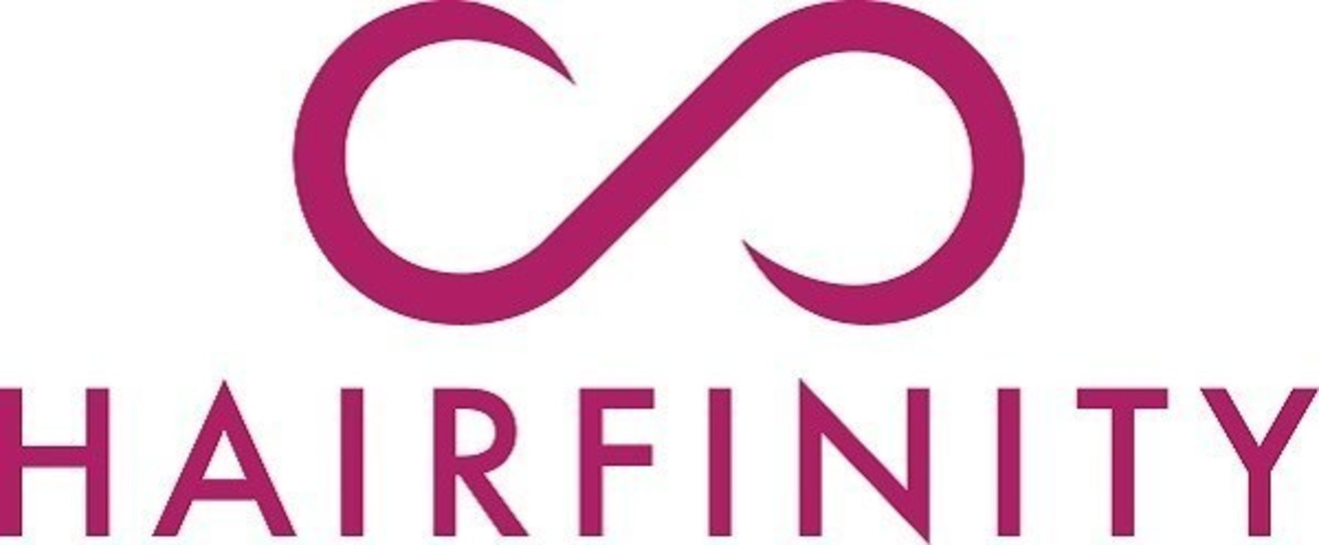 Hairfinity logo. Hairfinity collaboration with winkl for their influencer marketing campaign.