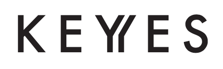 Keyyes logo. Keyyes collaboration with winkl for their influencer marketing campaign.